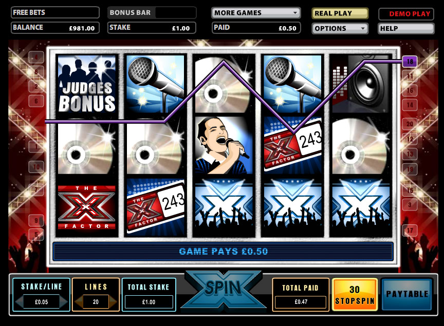 X Factor Jackpot™ Slot Machine Game to Play Free in IGTs Online Casinos